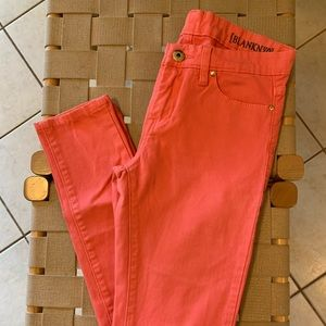 Blank NYC Bright Pink Skinny Jeans Sz 26